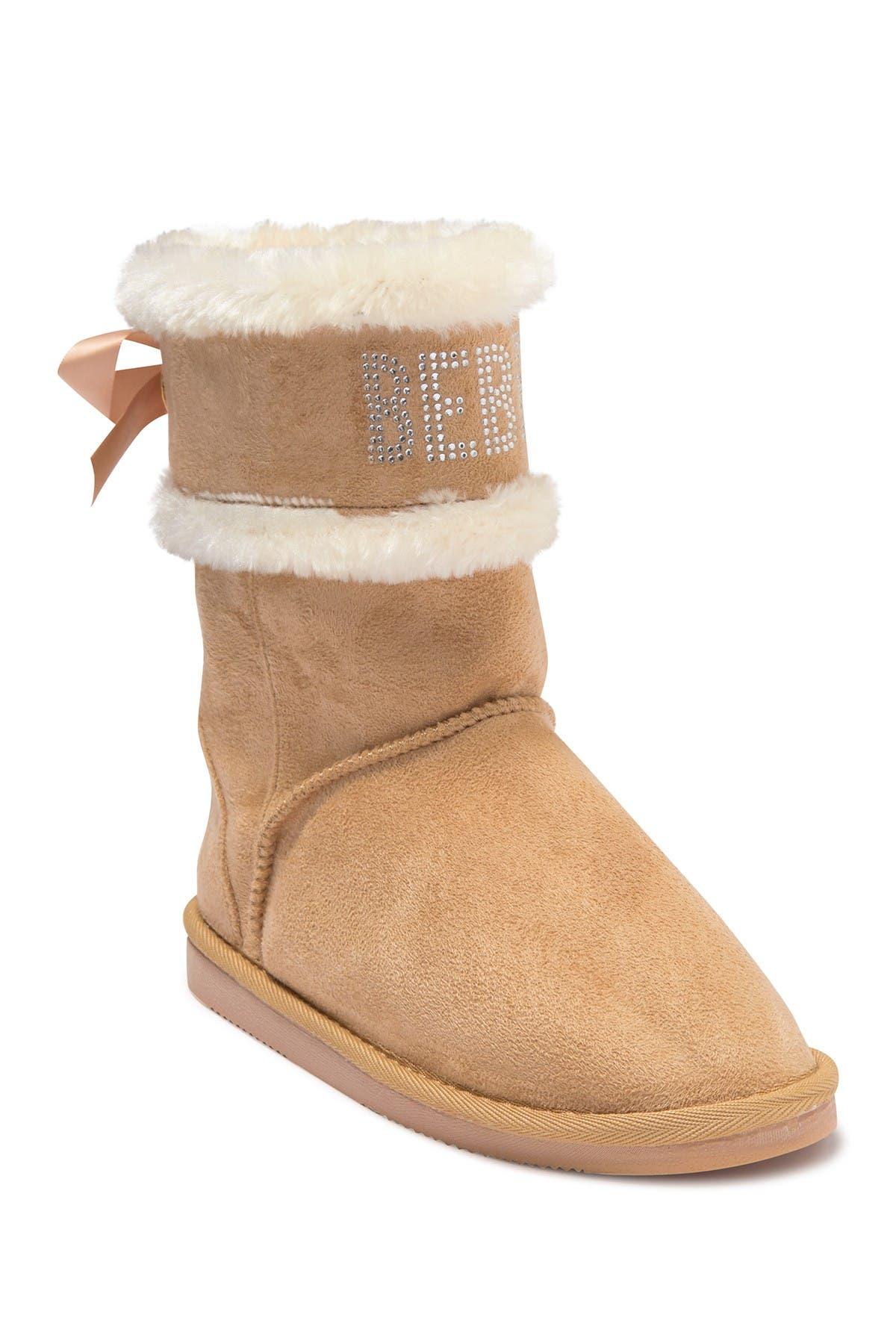 Image of bebe Microsuede Winter Boot