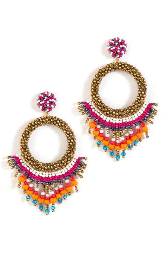 Deepa Gurnani Earrings ZAHIRA DROP EARRINGS