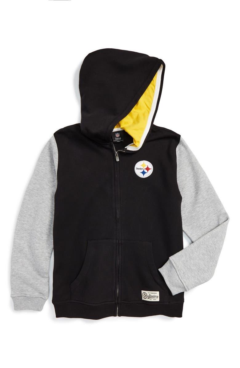 half off 9c56f 87c8b Outerstuff 'Vintage Team - Pittsburgh Steelers' Zip Front ...