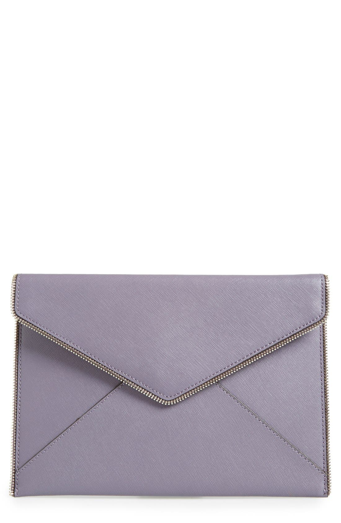 ,                             Leo Envelope Clutch,                             Main thumbnail 235, color,                             500