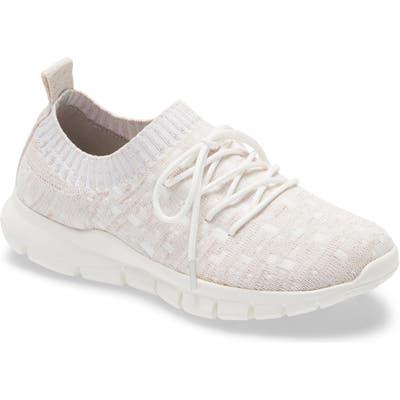 Bernie Mev Plush Sneaker, White