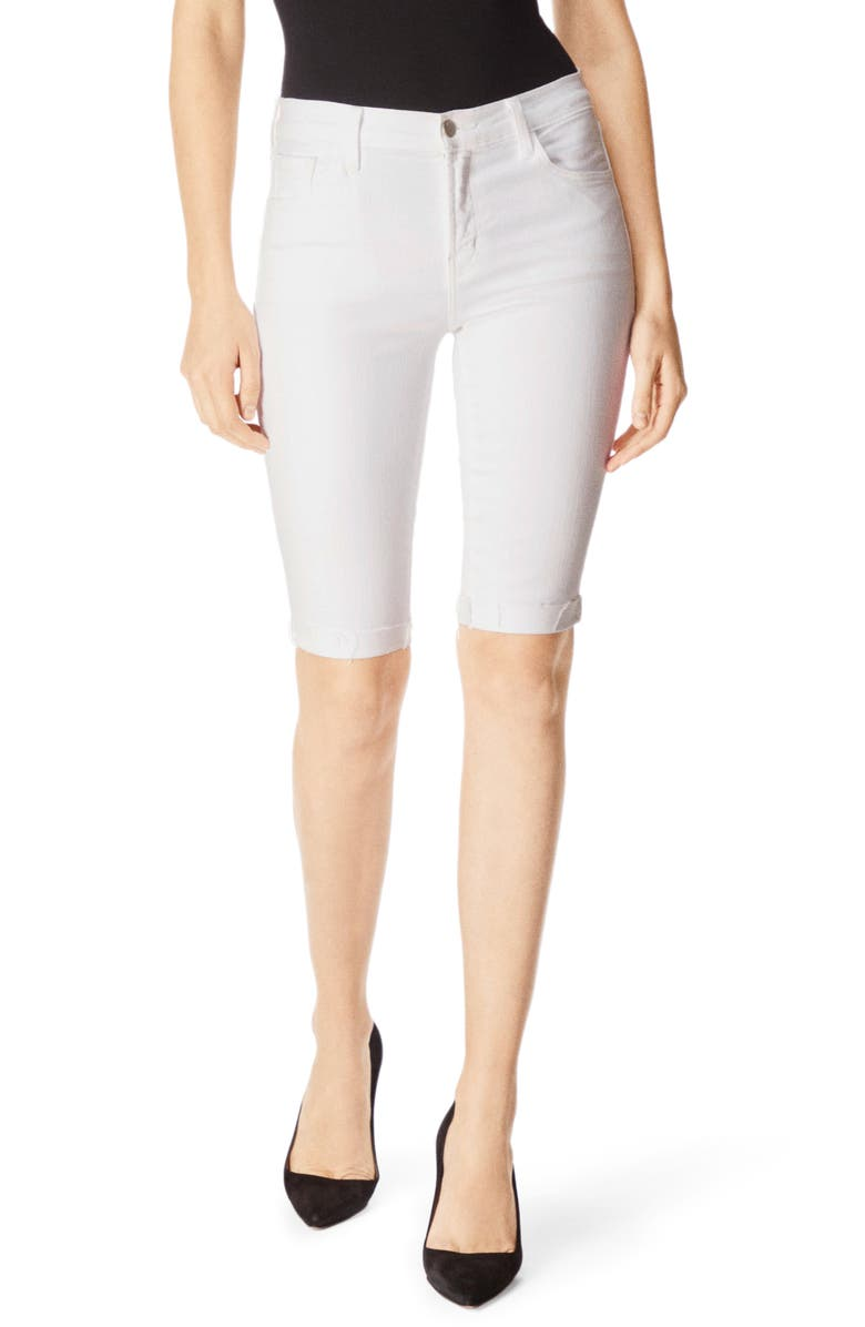 J BRAND 811 Skinny Bermuda Shorts, Main, color, 161