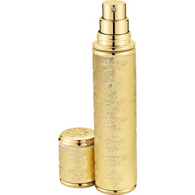 Creed Gold With Gold Trim Leather Atomizer