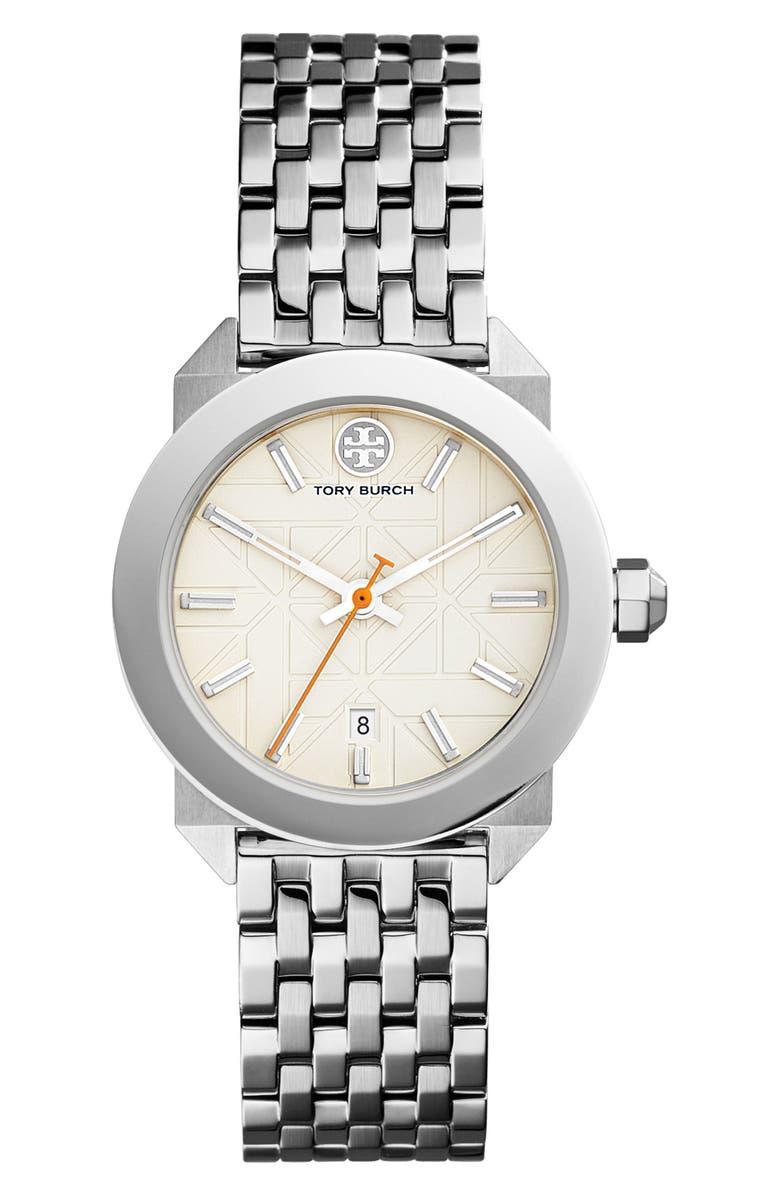 TORY BURCH Whitney Bracelet Watch, 35mm, Main, color, 040