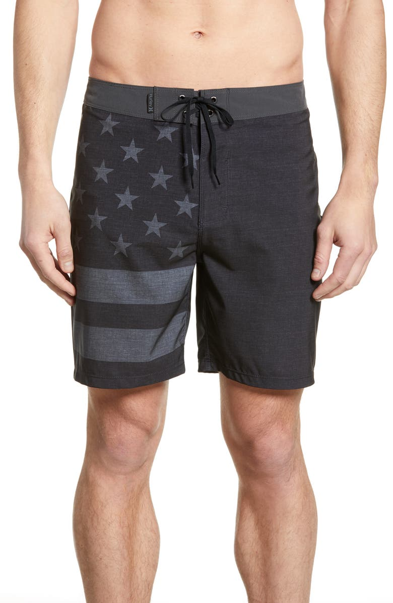 HURLEY Phantom Patriot Board Shorts, Main, color, 010