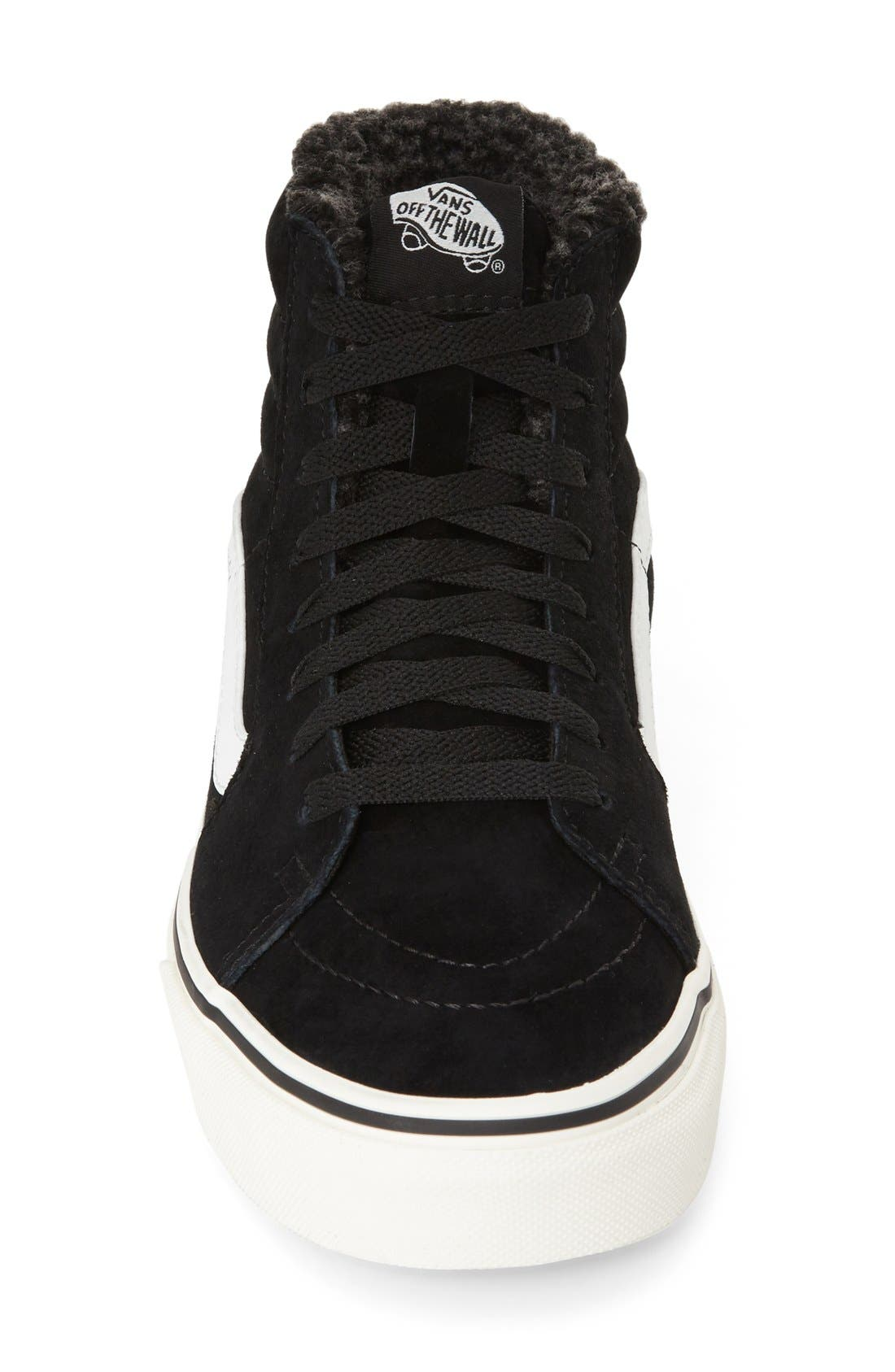 ,                             Sk8-Hi Checker Sneaker,                             Alternate thumbnail 14, color,                             001