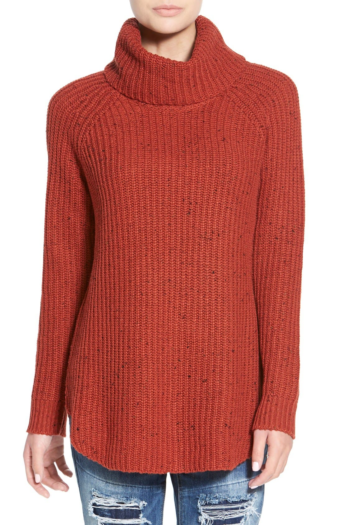,                             Turtleneck Sweater,                             Main thumbnail 21, color,                             610