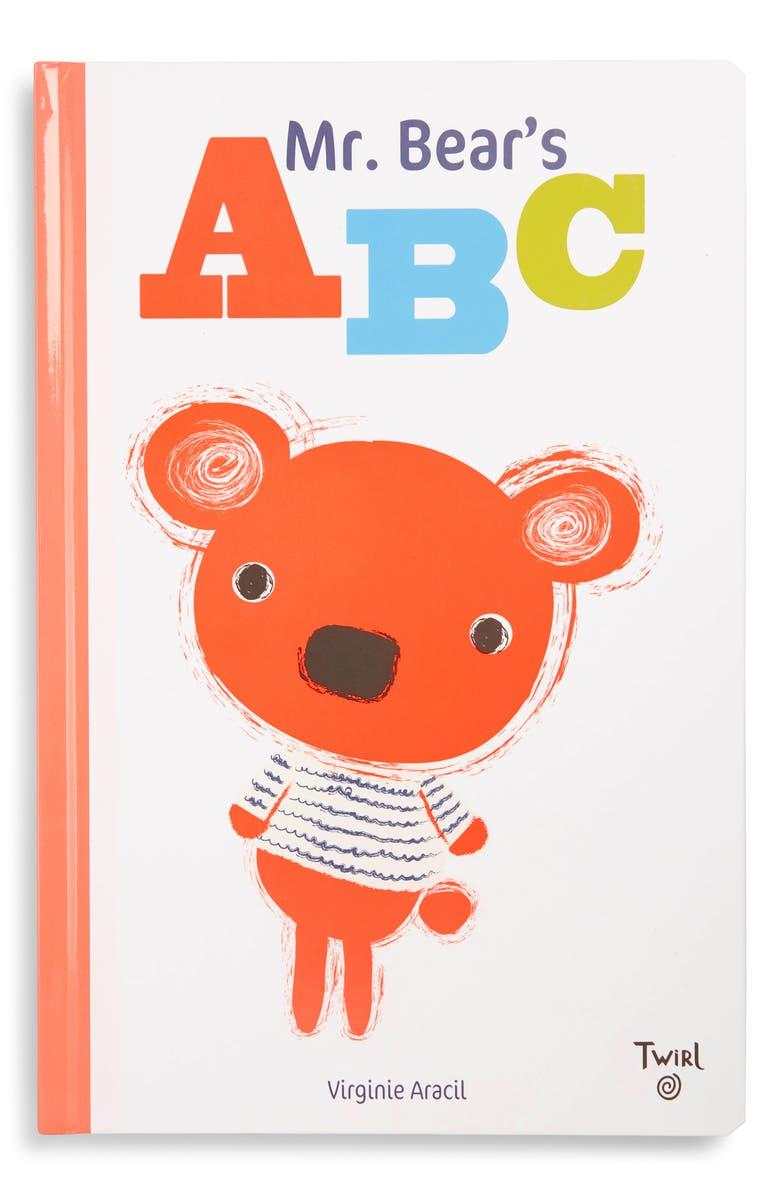 CHRONICLE BOOKS 'Mr. Bear's ABC' Book, Main, color, WHITE