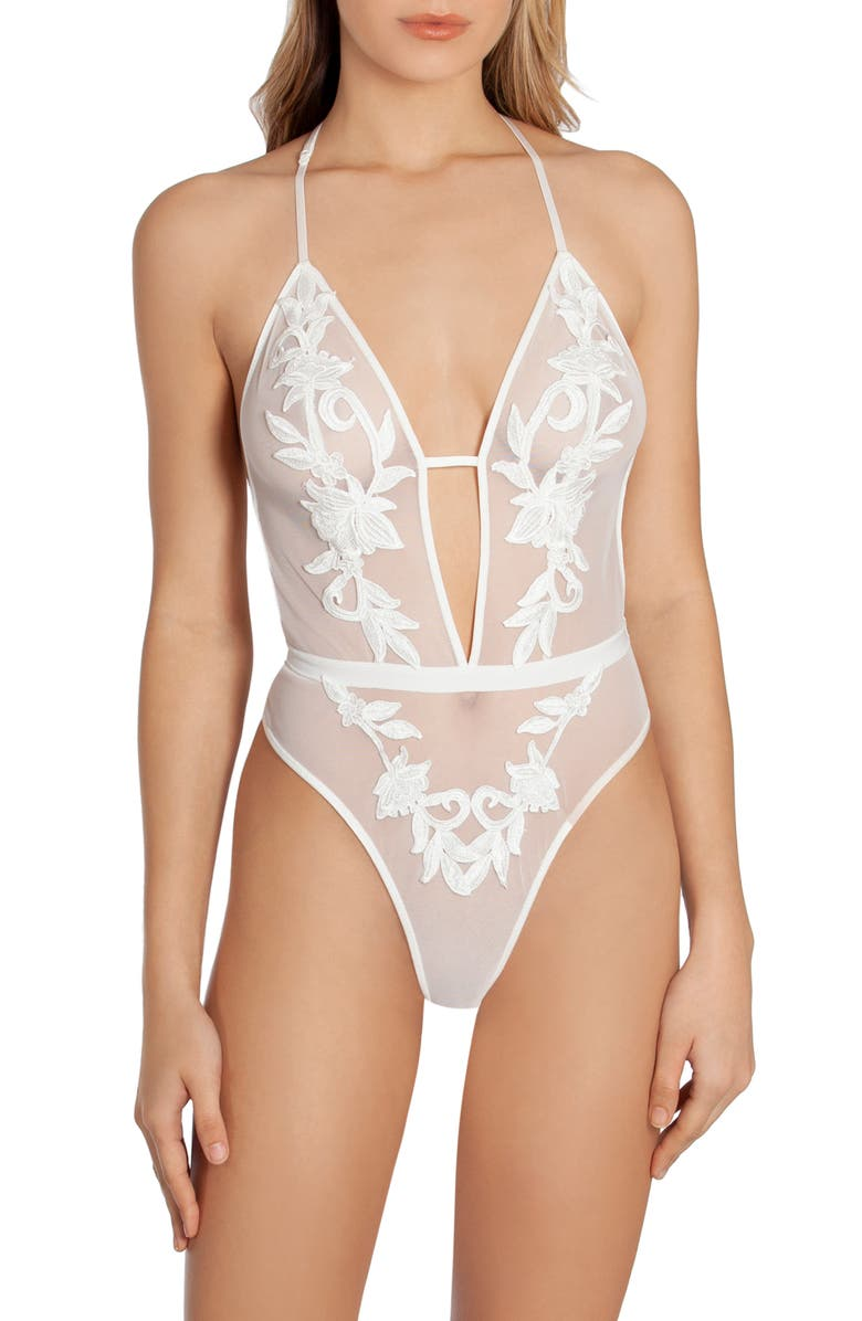 IN BLOOM BY JONQUIL Wildest Dreams Thong Teddy, Main, color, 908