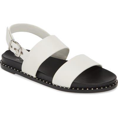 Linea Paolo Reid Studded Sandal, White