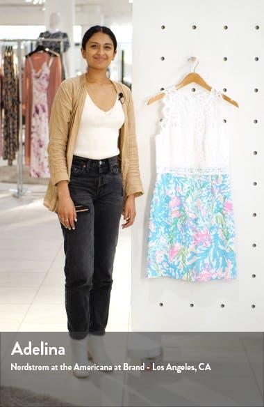 Sharice Lace Sheath Dress, sales video thumbnail