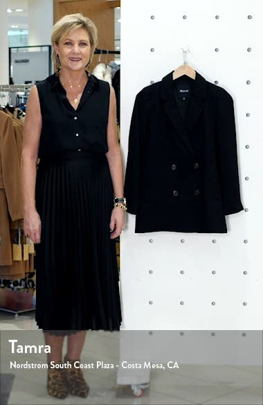 Caldwell Double Breasted Blazer, sales video thumbnail