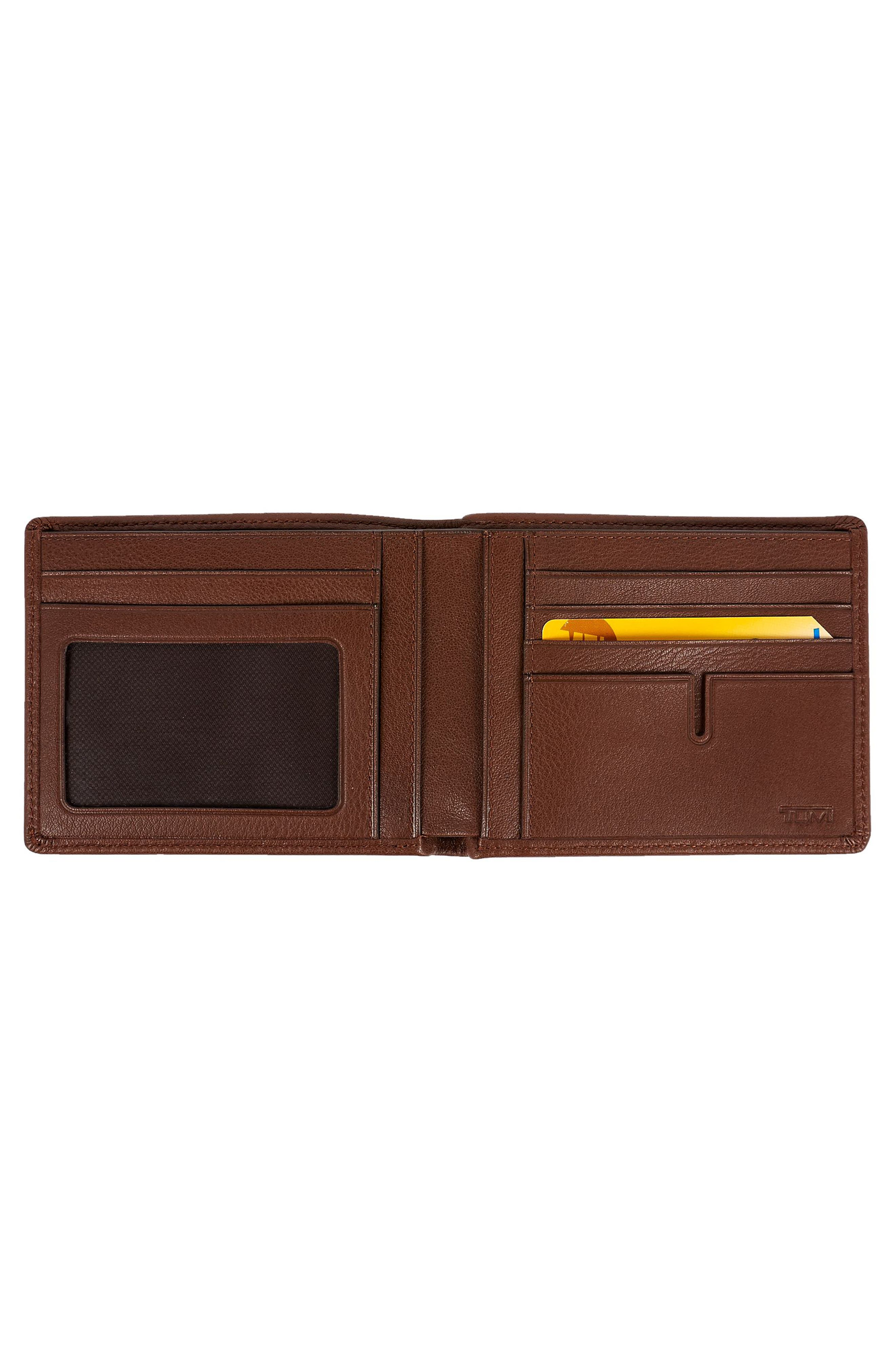 ,                             Global Leather RFID Wallet,                             Alternate thumbnail 4, color,                             213