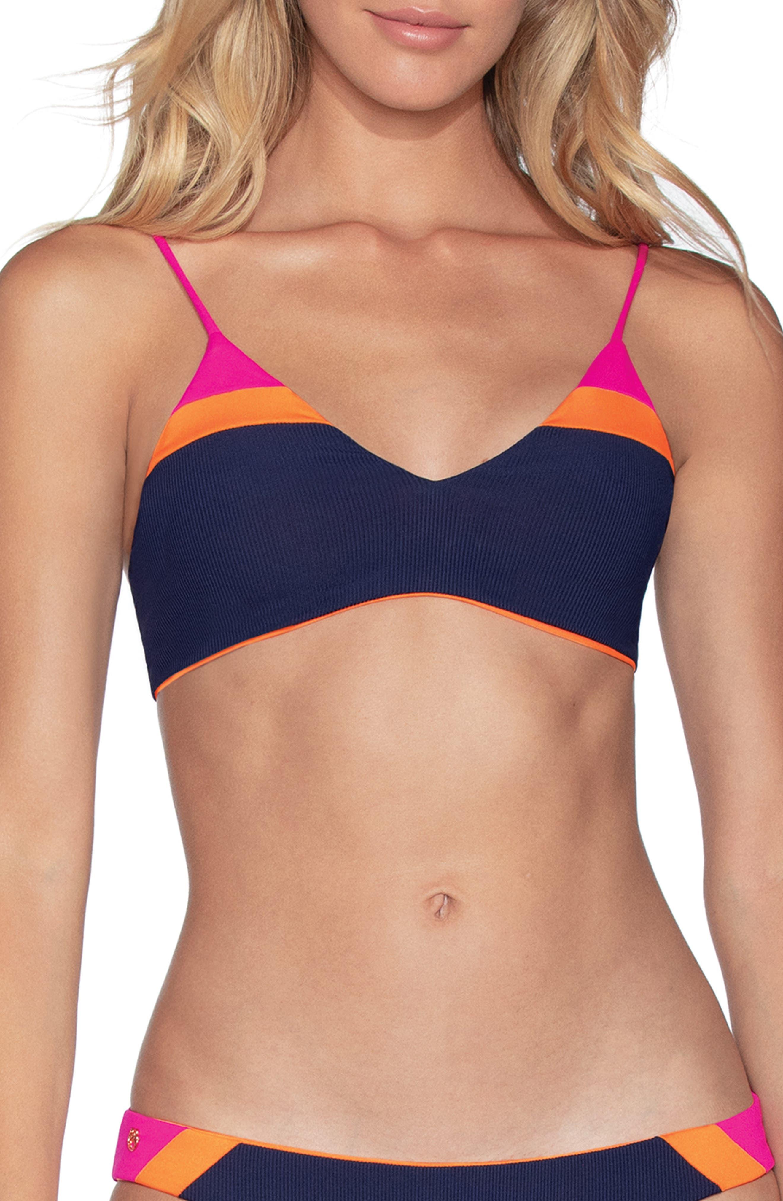 Maaji Womens Rocks Bralette Reversible Bikini Top Swimsuit Bikini Top