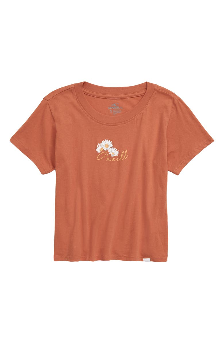O'NEILL Wildflower Tee, Main, color, HENNA
