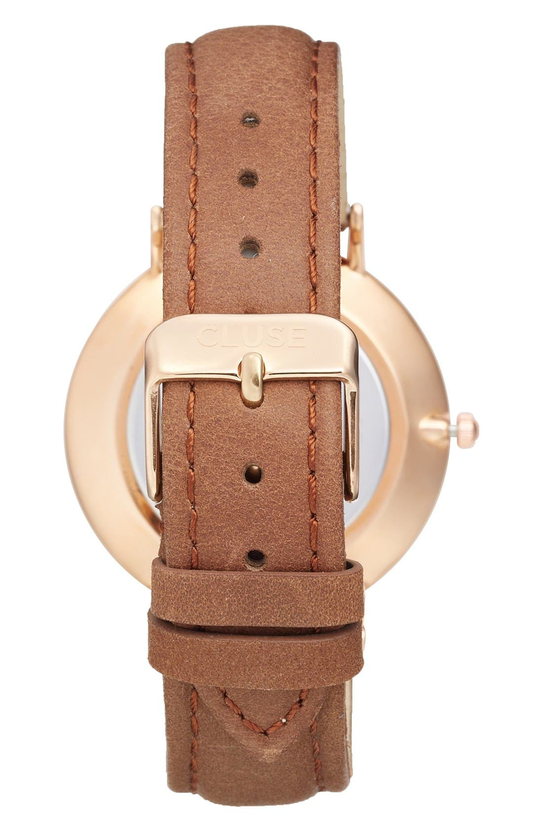,                             La Bohème Leather Strap Watch, 38mm,                             Alternate thumbnail 26, color,                             201