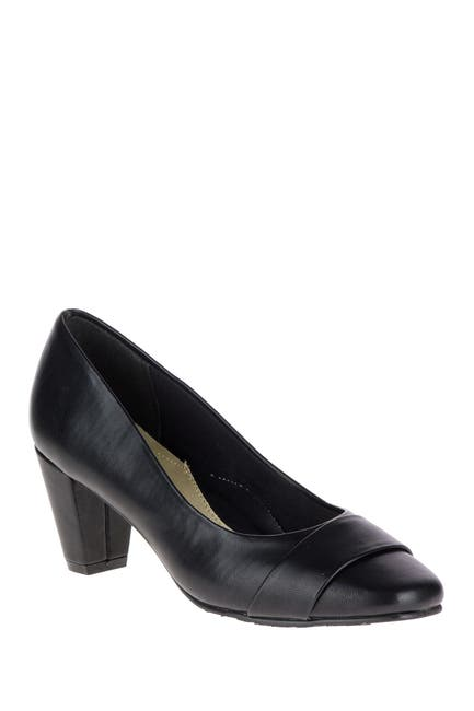 Image of Hush Puppies Mabry Tapered Heel Pump - Wide Width Available