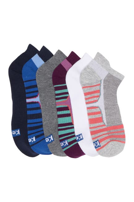 Image of Keds Assorted Low Cut Ankle Socks - Pack of 5