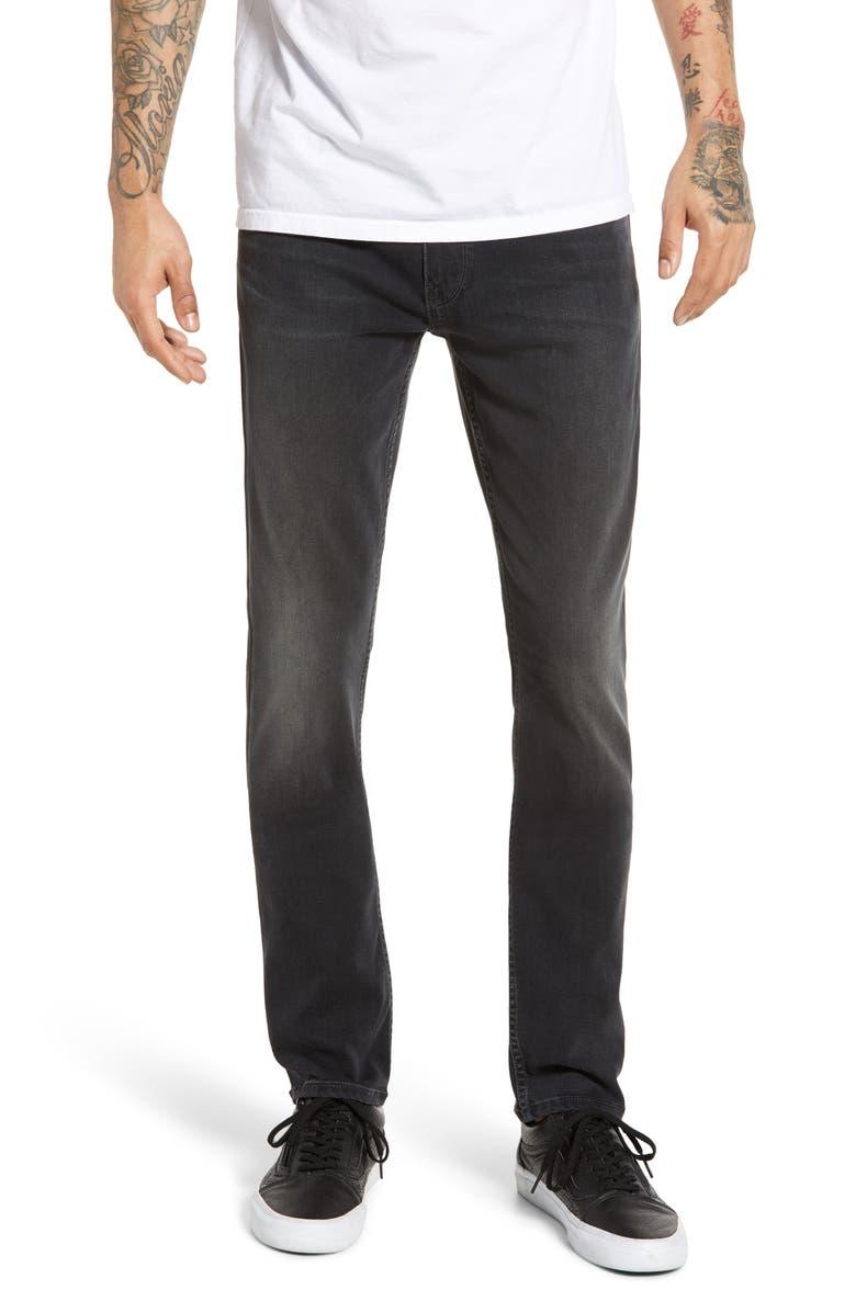 PAIGE Transcend - Lennox Slim Fit Jeans, Main, color, SAVOY