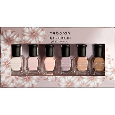 Deborah Lippmann Undressed Gel Lab Pro Nail Color Set - No Color