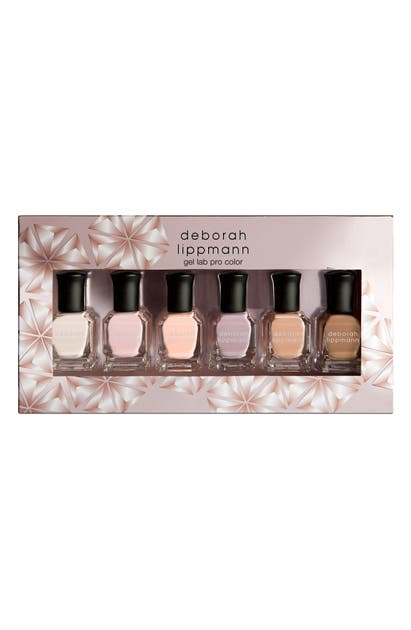 Deborah Lippmann UNDRESSED GEL LAB PRO NAIL COLOR SET