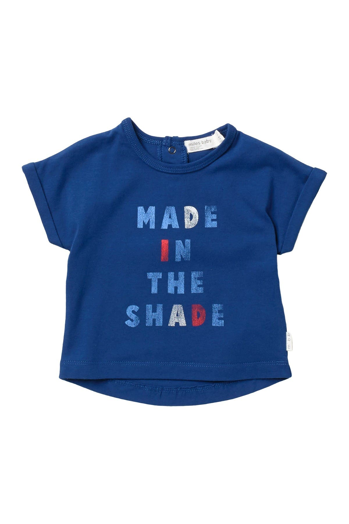 Image of Miles Baby 'Made in the Shade' T-Shirt