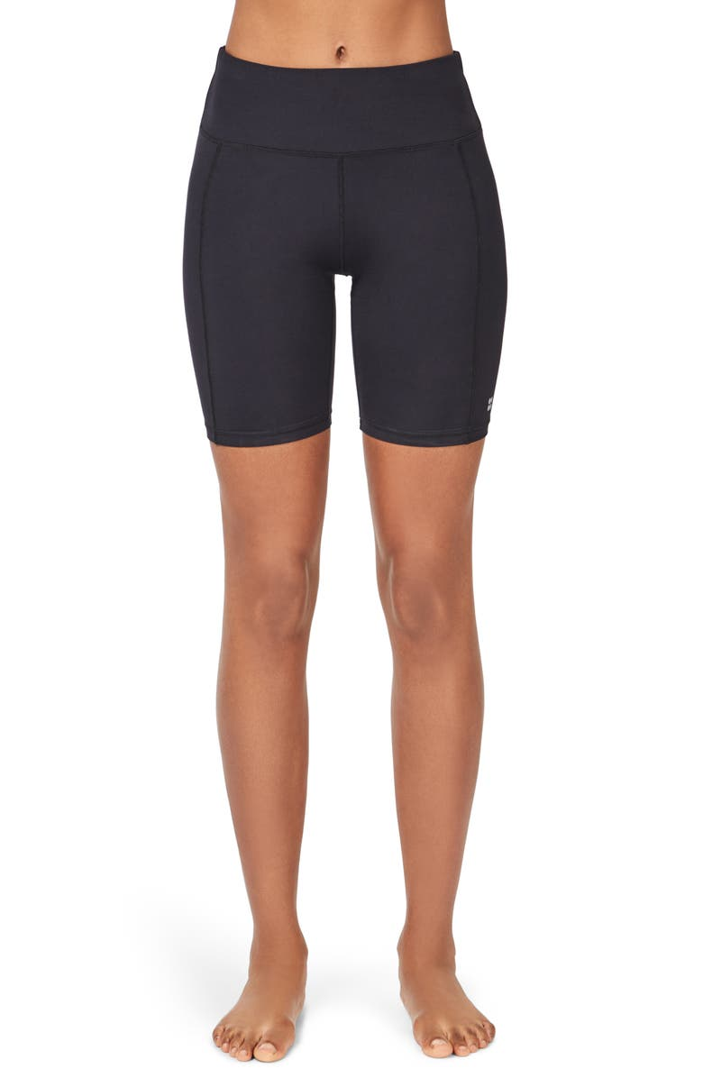 SWEATY BETTY Contour Workout Shorts, Main, color, BLACK