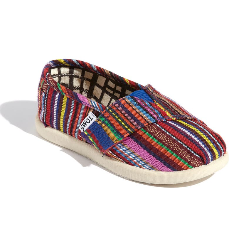 TOMS 'Classic Tiny - Cruz' Slip-On, Main, color, 800