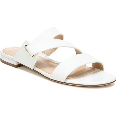 Via Spiga Cadell Slide Sandal, White