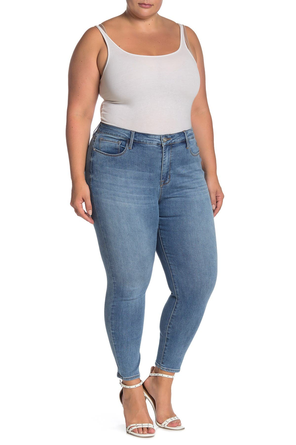 Image of Sanctuary Fit Tech Social Skinny Jeans