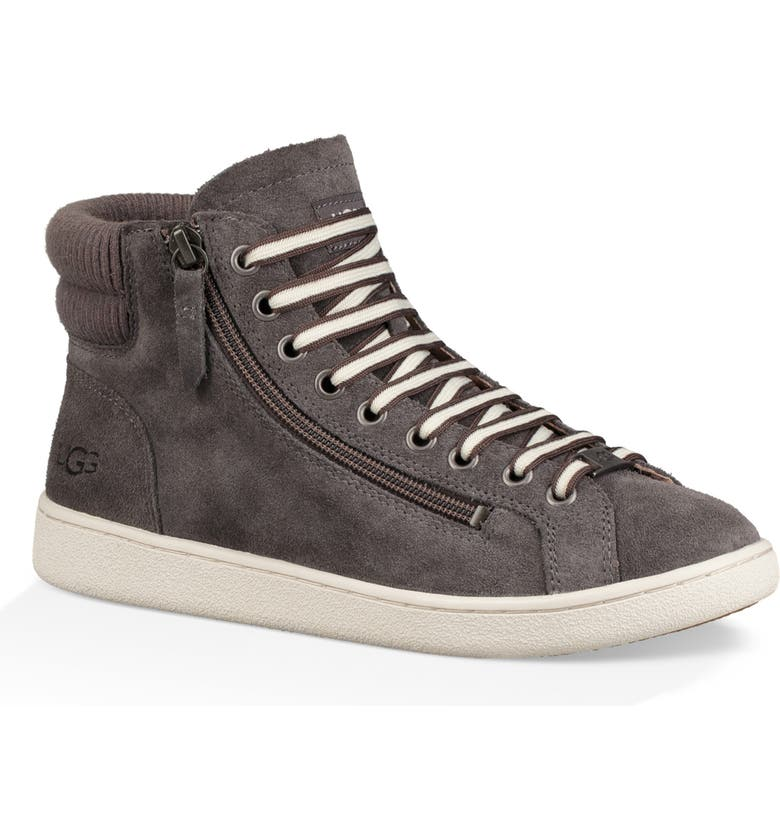 UGG<SUP>®</SUP> UGG Olive High Top Sneaker, Main, color, 020