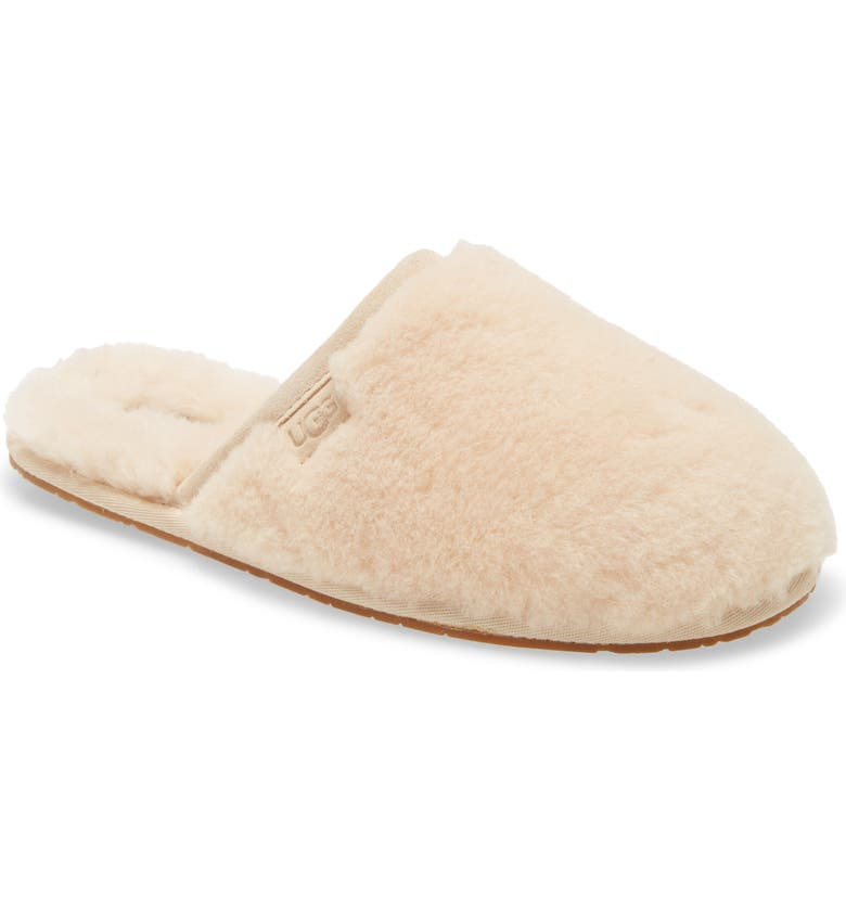 UGG<SUP>®</SUP> Fluffette Slipper, Main, color, CREAM