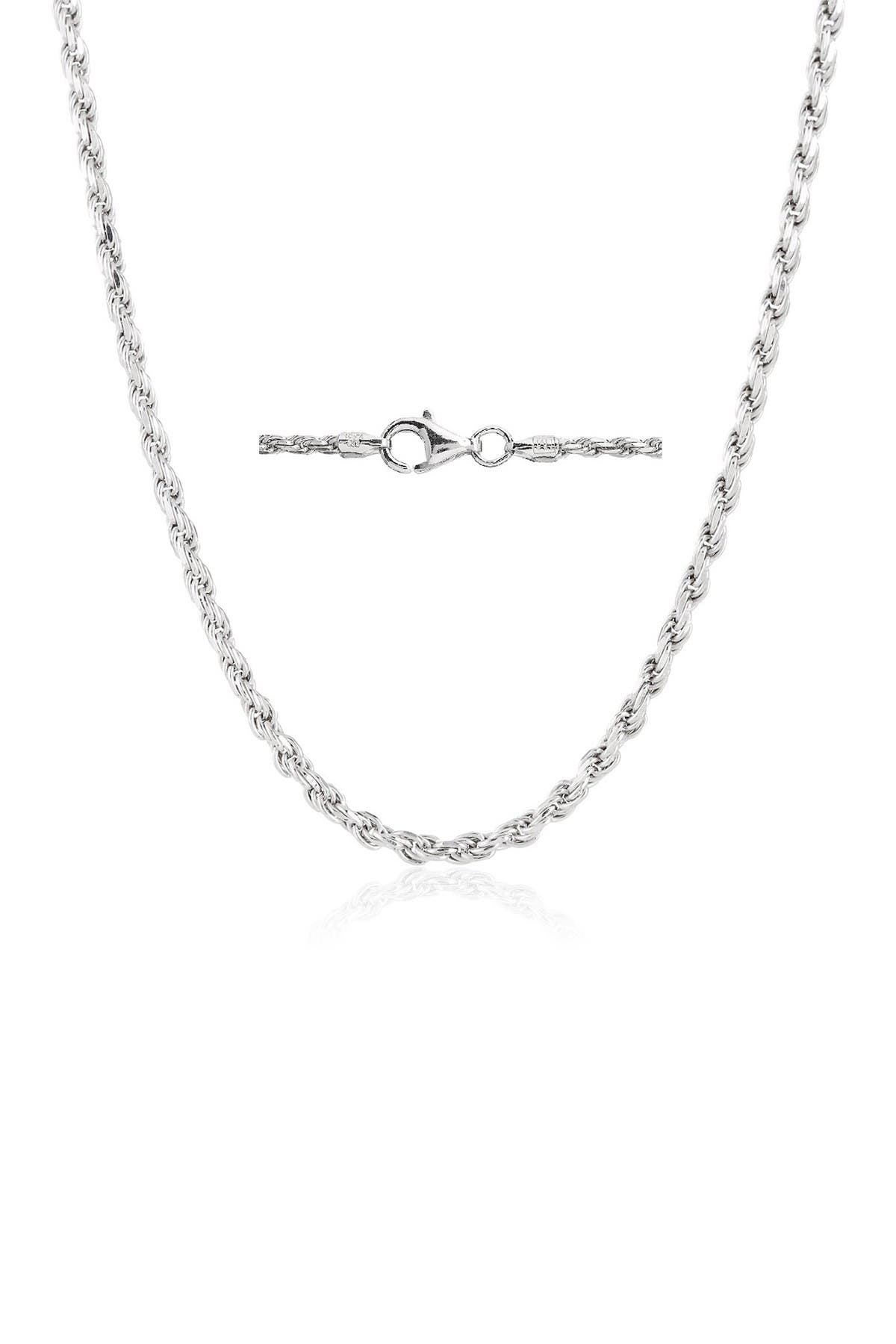 """Image of Best Silver Inc. Sterling Silver Rope Chain 18"""""""