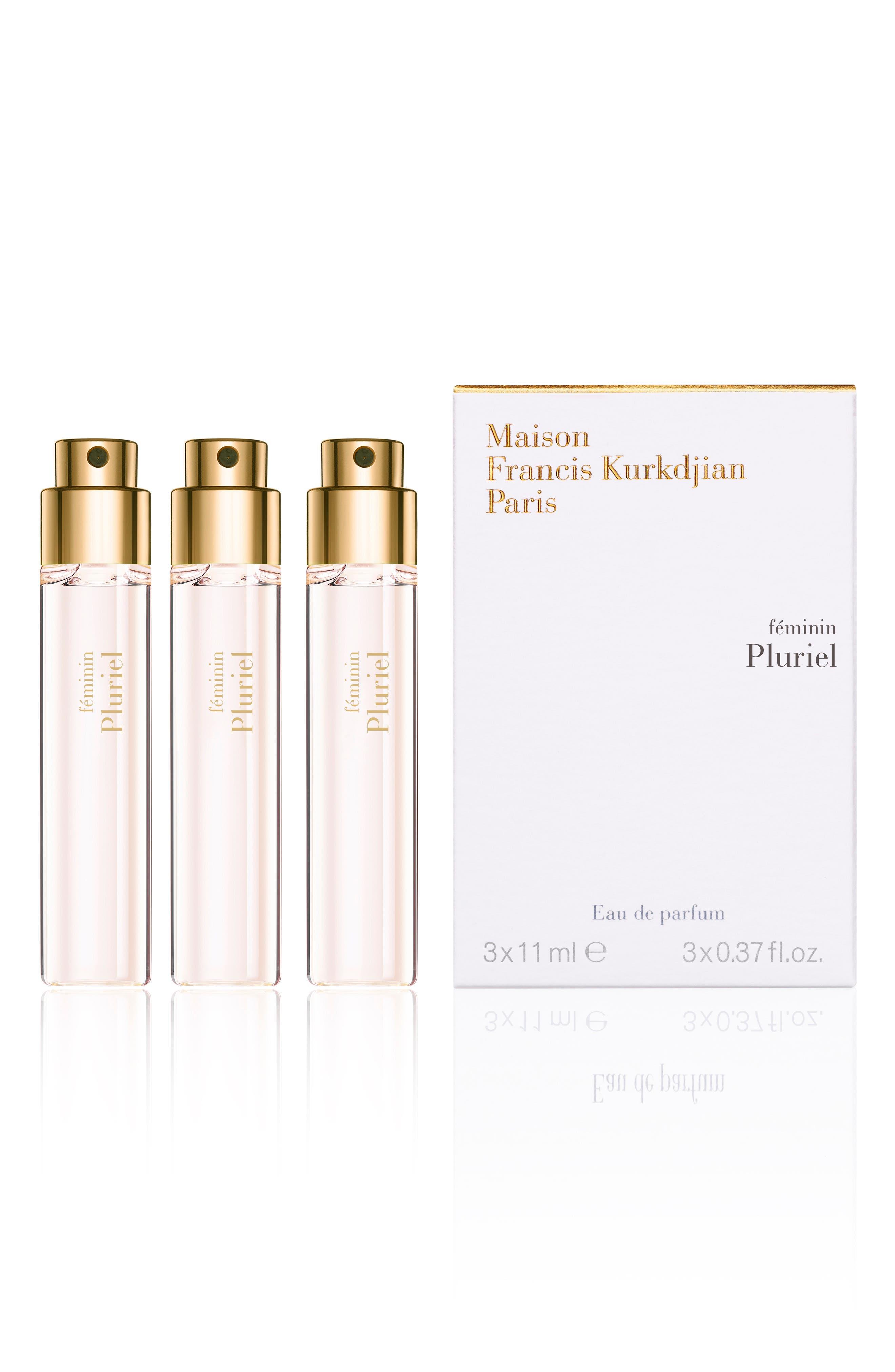 Paris Feminin Pluriel Eau De Parfum Refill Trio