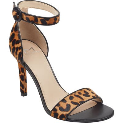 Marc Fisher Ltd Kora Ankle Strap Sandal, Brown