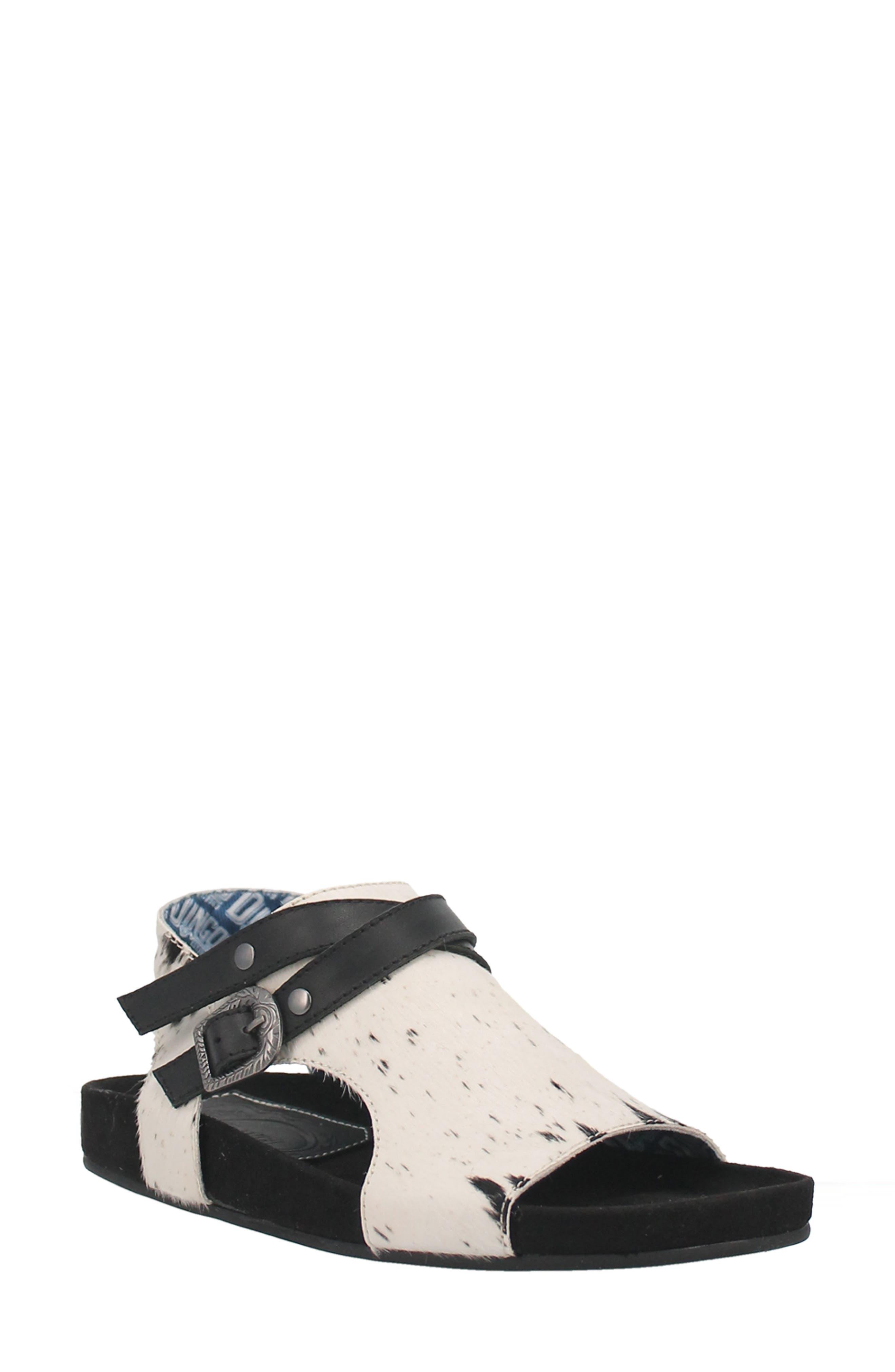 Savannas Genuine Calf Hair Sandal