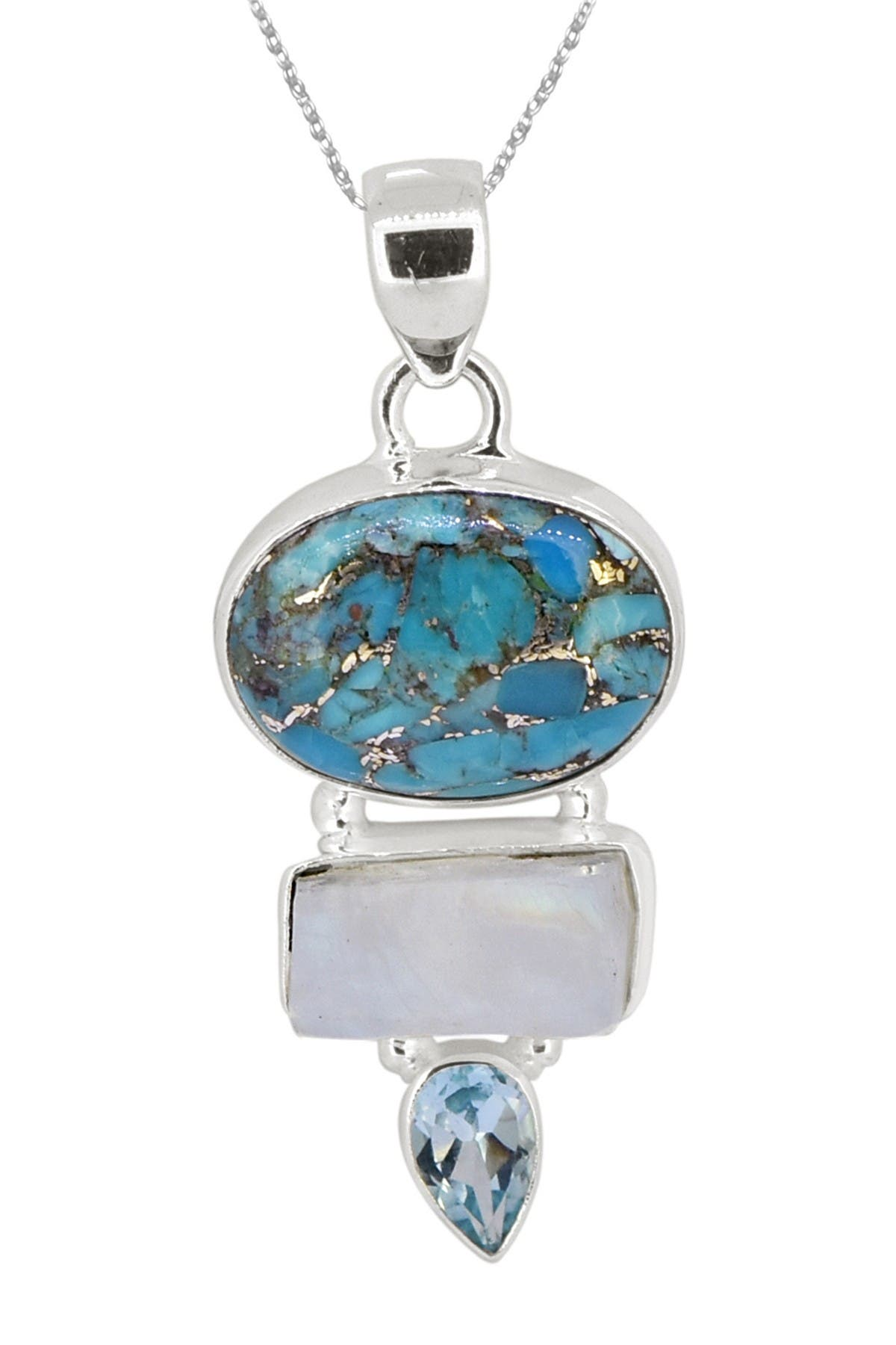 Details about  /100/% NATURAL 6X4MM SKY BLUE TOPAZ CROSS AAA++ GEM STERLING SILVER 925 PENDANT