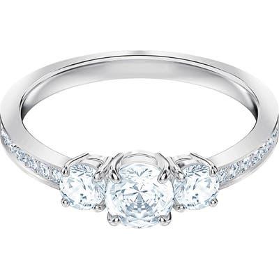Swarovski Attract Trilogy Crystal Ring