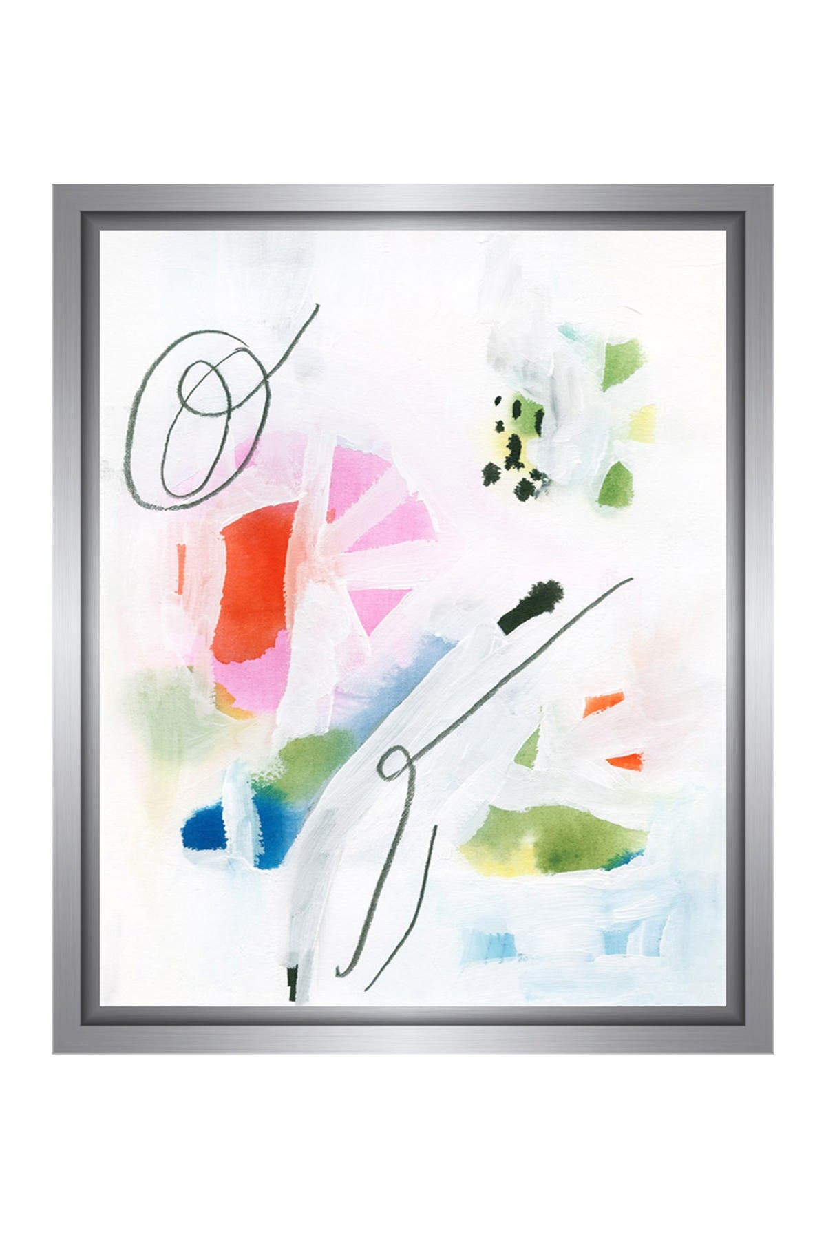 Image of PTM Images Colored Brushes III Gallery Wrapped Giclee Print