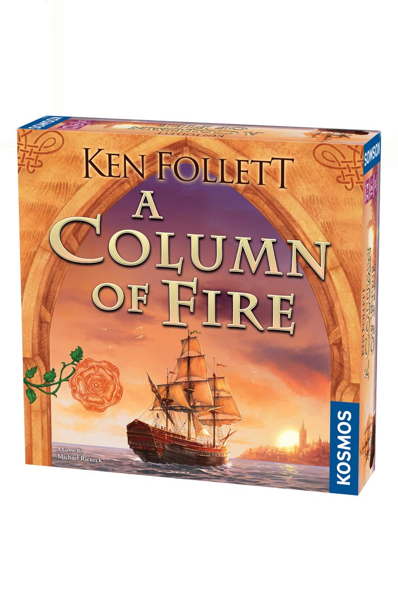 THAMES & KOSMOS - A Column of Fire Game, Main, color, MULTI