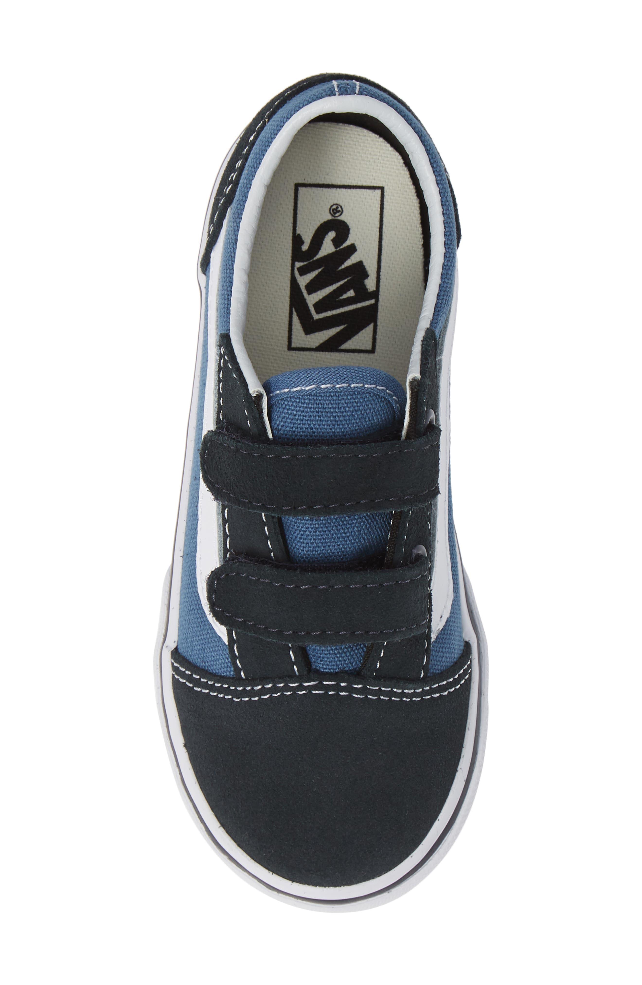 ,                             'Old Skool' Sneaker,                             Alternate thumbnail 5, color,                             NAVY