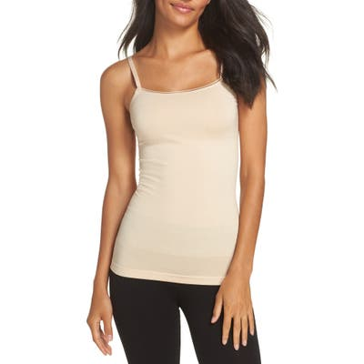 Yummie Seamlessly Shaped Convertible Camisole, Beige
