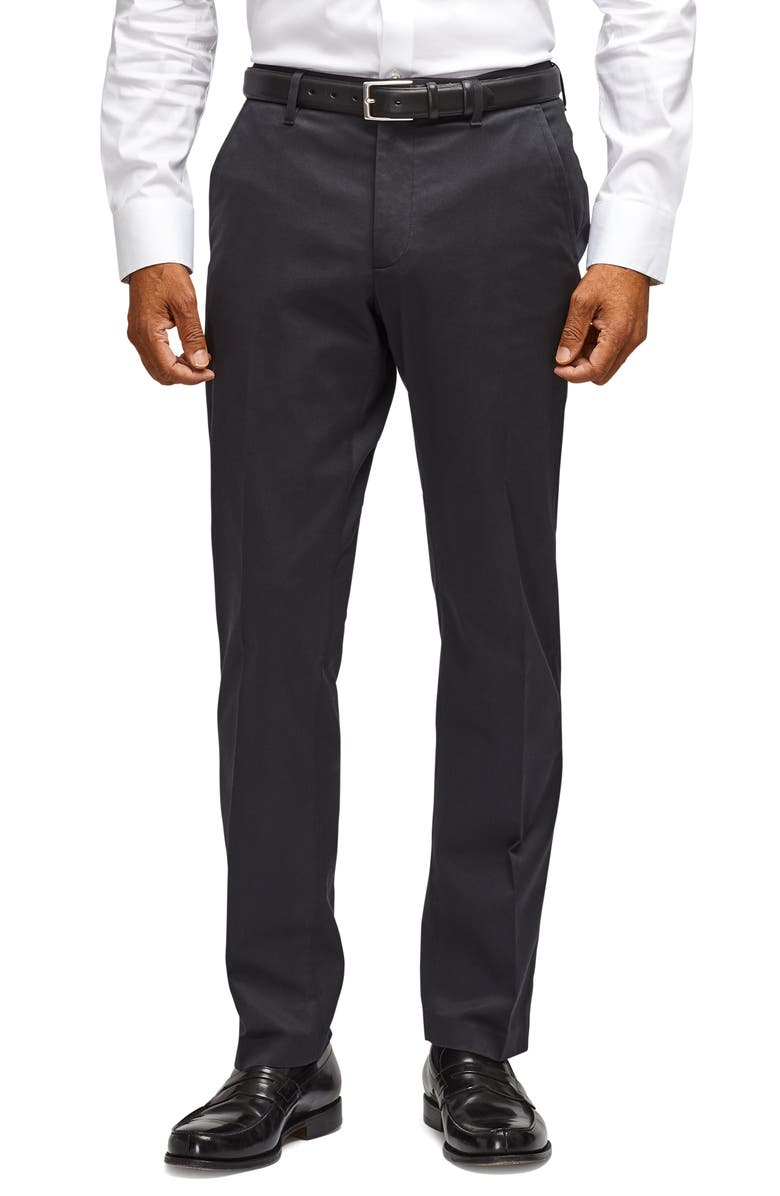 BONOBOS Stretch Weekday Warrior Slim Fit Dress Pants, Main, color, BLACK
