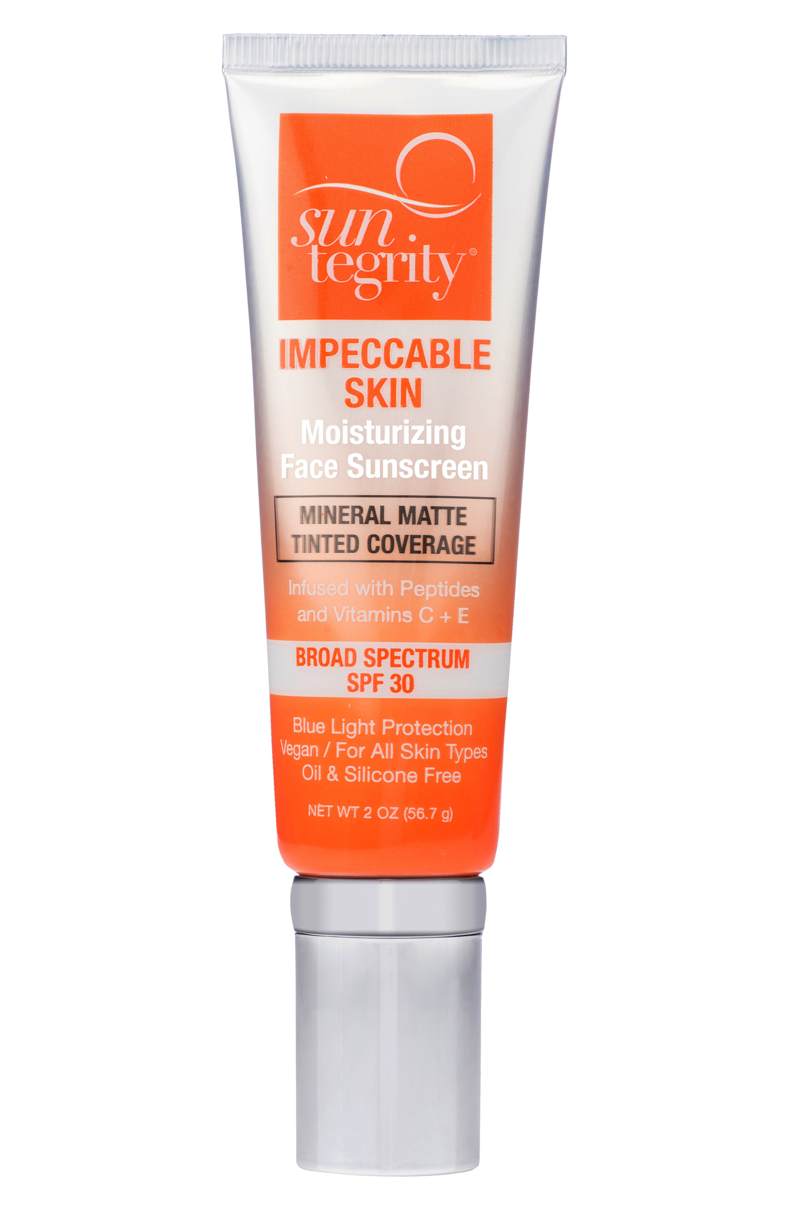 What it is: A medium-coverage formula that offers beauty-boosting skin care, sunscreen and makeup all in one. Who it\\\'s for: All skin types. What it does: This vitamin- and peptide-rich formula helps visibly reduce signs of aging while non-nano zinc oxide and melanin provide broad-spectrum SPF 30 and blue light protection to help prevent future signs of damage. It also contains vitamins C and E, which offer antioxidant protection that feeds and