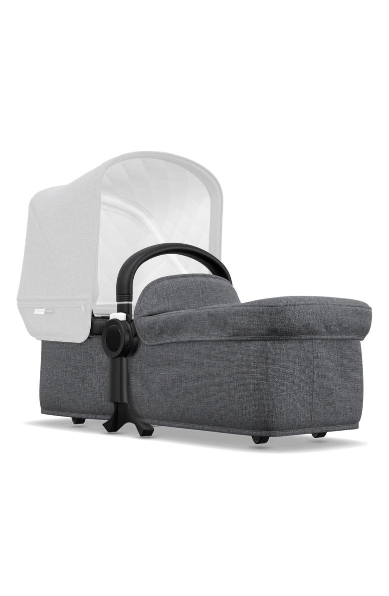 BUGABOO Bassinet Second Bassinet Fabric Set for Donkey2 Stroller, Main, color, GREY MELANGE