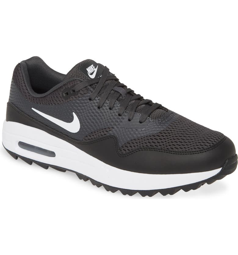 NIKE Air Max 1 G Golf Shoe, Main, color, 001