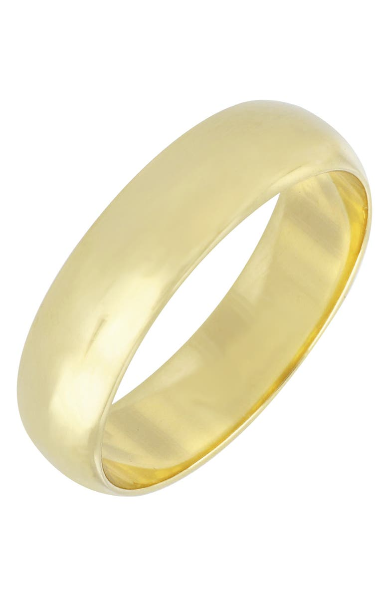 BONY LEVY Wedding Band Ring, 5mm, Main, color, YELLOW GOLD