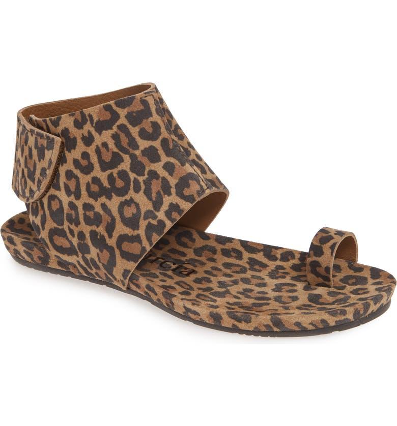 PEDRO GARCIA 'Vania' Sandal, Main, color, LEOPARD CASTORO