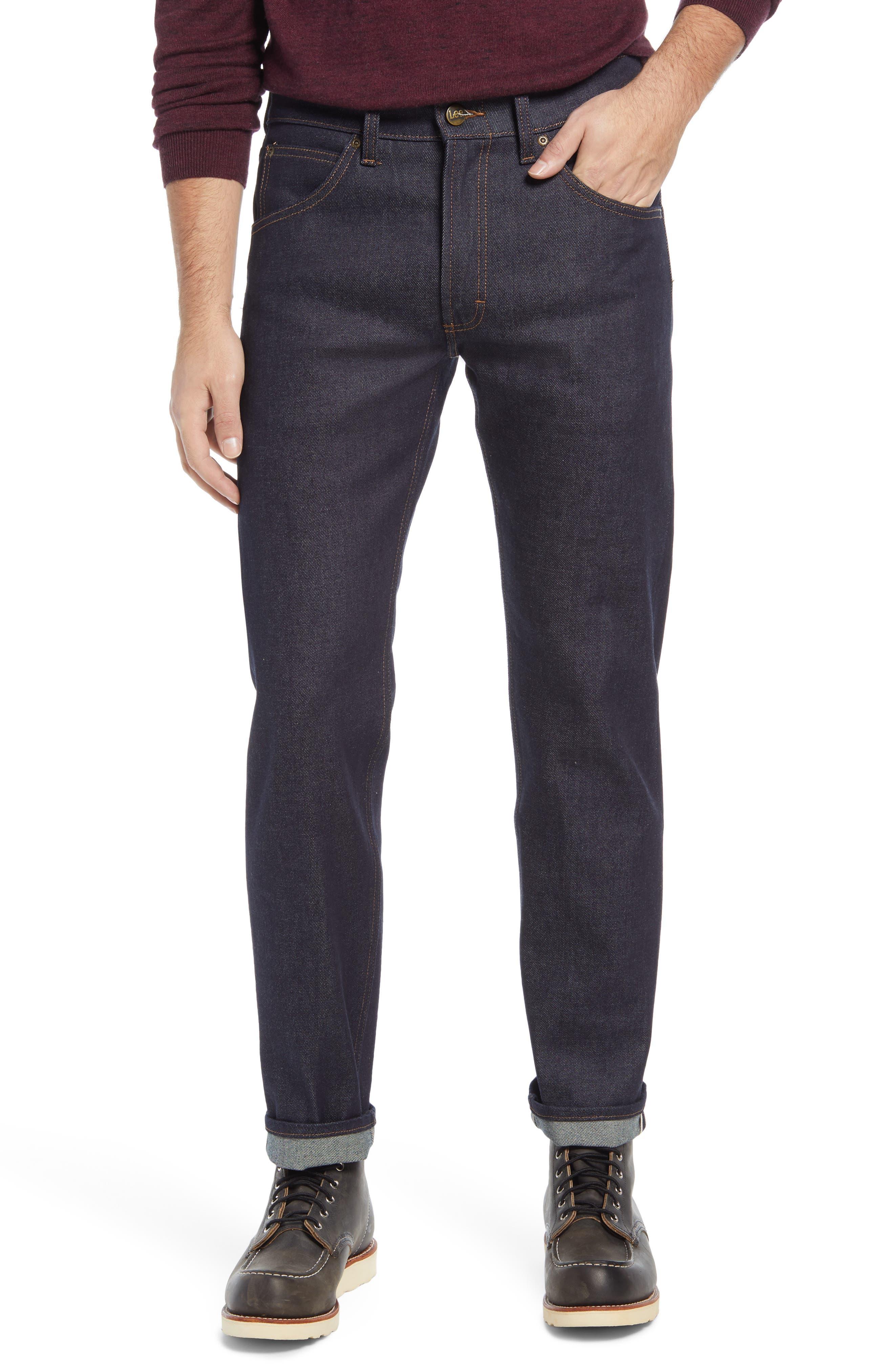 Regular Straight Leg Jeans