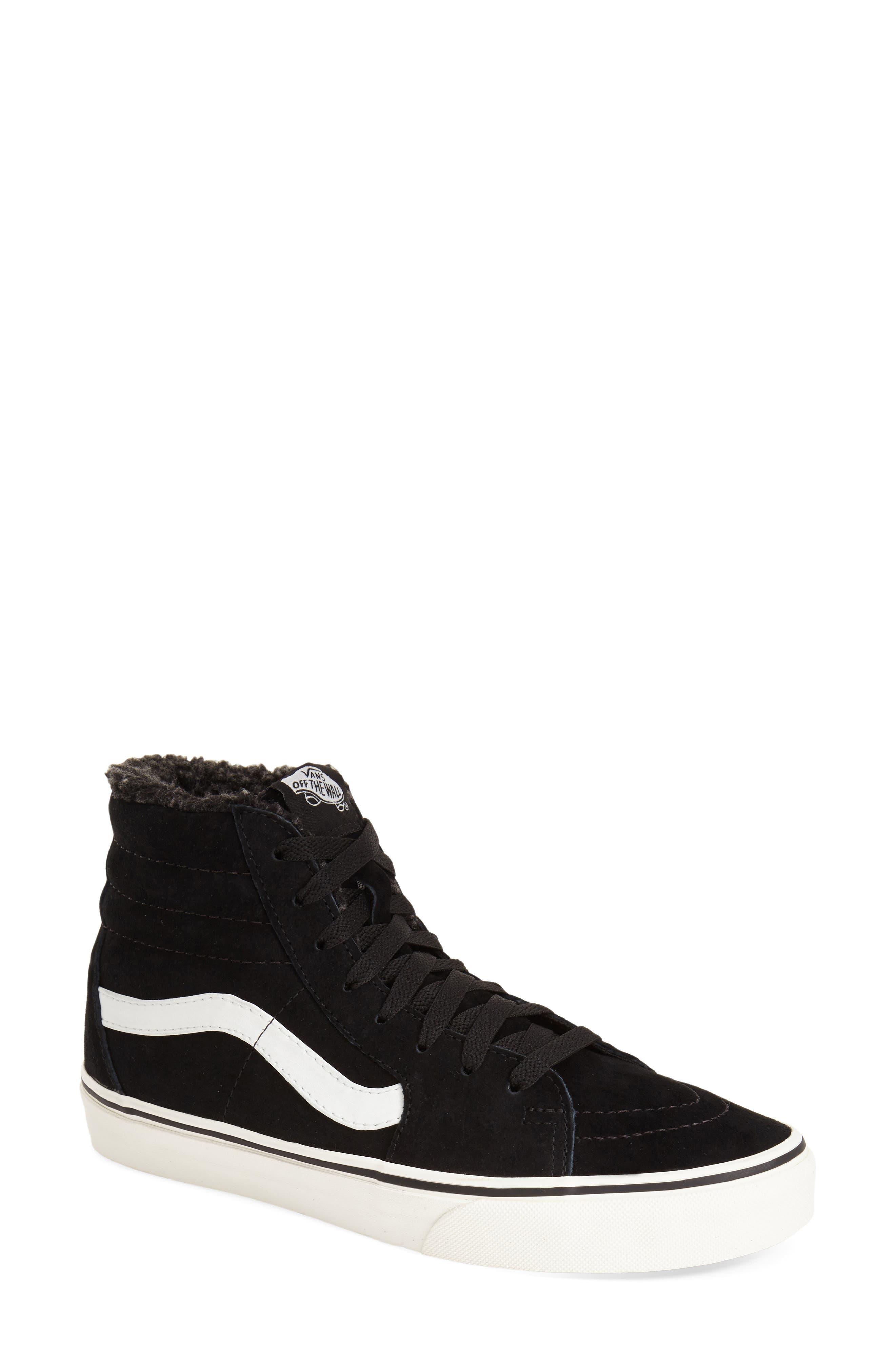 ,                             Sk8-Hi Checker Sneaker,                             Main thumbnail 13, color,                             001